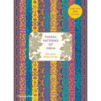 Floral Patterns of India: Gift Labels, Stickers and Tape 印度