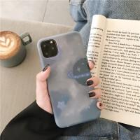个性星空意象iphone11promax苹果x手机壳xsmax液态硅胶苹果8plus全包防摔7plus创意个性6spl