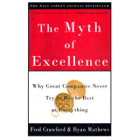 MYTH OF EXCELLENCE, THE(ISBN=9780609810019) 英文原版