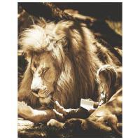 【预订】Lion & Child Oversized 8.5x11, 150 Page Lined Blank Jour