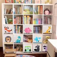 儿童玩具收纳柜儿童书柜书架自由组合储物柜格置物柜 0.6米以下宽