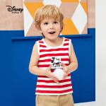 【79元3件专区】迪士尼童装男童2020夏季新款探险日记男童针织圆领背心时尚趣味