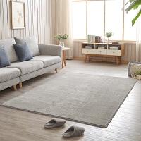 地毯客厅卧室简约现代北欧沙发茶几床边满铺加厚机洗家用k 浅灰色