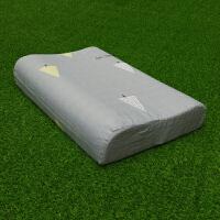 枕头套泰单40X60婴儿绒棉蝶形30X50乳胶枕套儿童枕巾s
