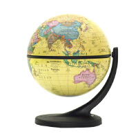 11cm博目仿古地球�x中英文政�^地球�x 小��[件�沃�c �f向旋�D �Y品 �b� Wander Globe 谷歌地球�x