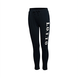 乐途卫裤女士运动生活系列长裤修身直筒针织运动裤EKLL002