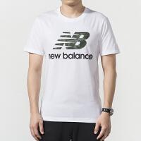 New Balance/NB 男装 运动休闲透气圆领短袖T恤 AMT91546WM
