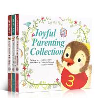 顺丰包邮 英文原版绘本叽里咕噜Joyful Parenting Collection幸福亲子套装3册小达人点读儿童宝宝