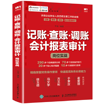 记账查账调账会计报表审计实战(pdf+txt+epub+azw3+mobi电子书在线阅读下载)