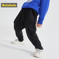 巴拉巴拉儿童裤子童装男童冬装长裤小童休闲裤潮