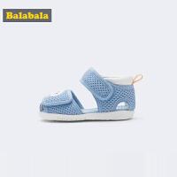 巴拉巴拉男童学步鞋软底防滑女宝宝鞋子1-3岁婴儿2019新款夏透气