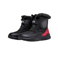 安踏童鞋男童棉鞋小童加厚保暖鞋子儿童运动鞋332019956R