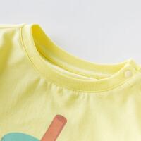 davebella戴维贝拉2020夏季新款男童T恤宝宝休闲T恤DBX13995