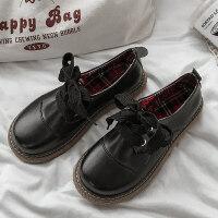 20190302043616873小皮鞋女英伦风增高复古森女系学生韩版百搭软妹黑色皮鞋