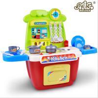 儿童益智过家家玩具 女孩仿真厨具餐具套装迷你厨房 角色扮演玩具