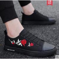 韩版男鞋休闲男士帆布板鞋精神社会小伙布鞋网红同款时尚户外新品潮鞋