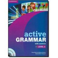 【预订】Active Grammar with Answers, Level 2 [With CDROM]