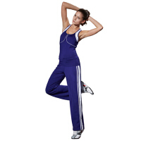 女士时尚休闲健身套装女广场舞服装健美运动瑜伽服套装