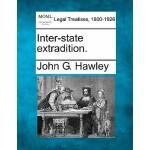 【预订】Inter-State Extradition.
