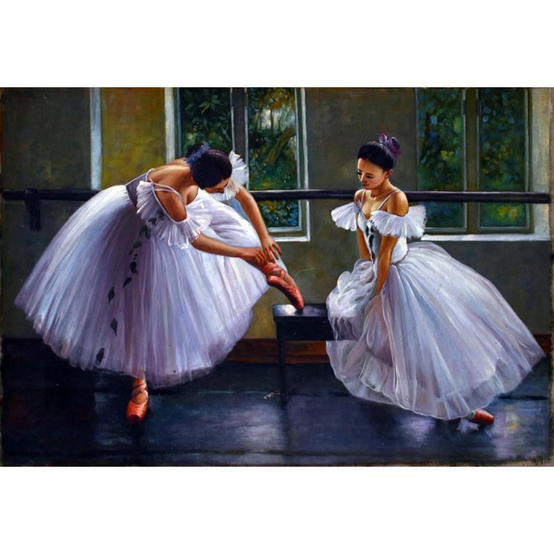 Y306  关则驹 《芭蕾女孩》