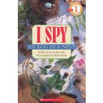 I SPY An Egg In A Nest (Level 1)学乐分级读物1:视觉大发现-鸟窝中的蛋ISBN9780545220934