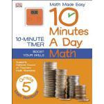 【预订】10 Minutes a Day: Math, Fifth Grade 9781465402301