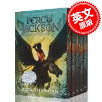 现货 波西杰克逊系列 神火之盗 魔兽之海 5本套装 带海报 英文原版 Percy Jackson and the Oly