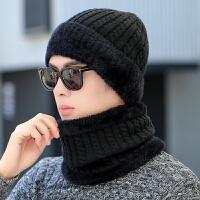 帽子男冬天羊毛毛线帽男保暖韩版黑色针织帽防寒冷帽护耳包头帽潮