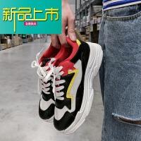 新品上市春季男士低帮鞋学生休闲鞋韩版潮流男鞋运动鞋百搭小白鞋