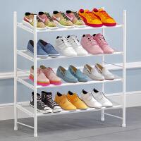 索尔诺 简易鞋架可伸缩家用多层经济型省空间宿舍鞋柜门口防尘收纳架子