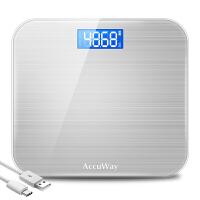 可充电电子称家用人体体重秤迷你减肥秤精准称重计女
