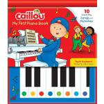【预订】Caillou: My First Piano Book