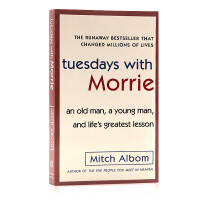 相约星期二 英文原版小说 Tuesdays with Morrie 余秋雨倾情推荐 米奇阿尔博姆纪实小说一日重生