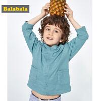 巴拉巴拉男童婴儿外套潮2019新款夏装儿童开衫宝宝上衣纯棉洋气男