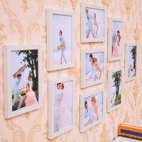 简约现代客厅照片墙装饰相框创意挂墙7寸九宫格卧室组合欧式相框