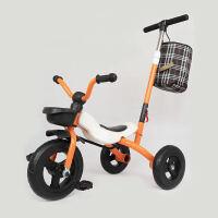 儿童三轮车脚踏车宝宝自行车轻便折叠婴幼儿童滑行车1-3岁玩具车溜娃车