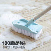 地刷硬毛长柄刷子清洁刷地刷子卫生间地板刷瓷砖浴室大地毯刷