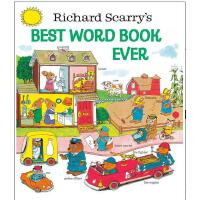 【现货】英文原版 Richard Scarry's Best Word Book Ever (Richard Scar