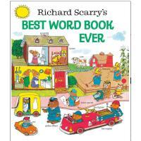 【现货】英文原版 Richard Scarry's Best Word Book Ever (Richard Scarr