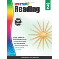 【现货】英文原版 光谱阅读练习册 2年级 (7-8岁)Spectrum Reading Workbook, Grade