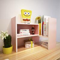 书架简易桌上学生用儿童书桌面置物架宿舍小书柜办公收纳架子简约
