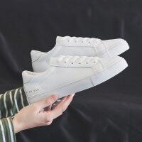 小白鞋女冬季加绒2018百搭韩版学生板鞋加厚保暖滑二棉鞋子 白色 单鞋