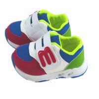 春秋0-1-5岁3男宝宝运动鞋婴幼儿软底学步鞋女童网鞋透气小童鞋子