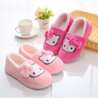 新品月子拖鞋软底家居鞋包跟孕产妇冬季棉女士防滑静音保暖棉拖鞋