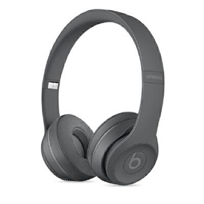Beats SOLO3 WL 头戴式耳机 沥青灰 MPXH2PA/A可使用礼品卡支付 国行正品 全国联保