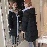 新年特惠棉衣中长款女士棉袄女装冬装新款棉袄女2019新款韩版学生冬季中长款加厚宽松羽外套
