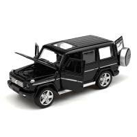 儿童玩具车1:32奔驰越野合金车仿真小车开门声光汽车模型
