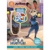 【预订】Disney Zootopia Activity Book with Eraser迪士尼动画电影 疯狂动物城(动