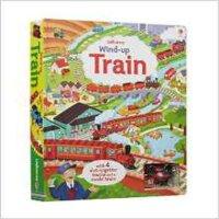 现货 英文原版 Wind-up Train Fiona Watt Usborne 轨道汽车系列:上发条的火车 Usborne亲子系列