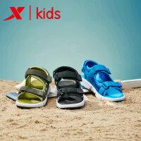 【特步限时直降】特步新品夏季童鞋男童凉鞋小学生凉鞋中大童沙滩鞋681215509236